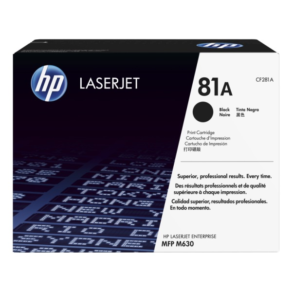 CF281A Toner Cartridge - HP Genuine OEM (Black)