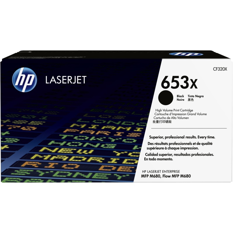 Genuine HP CF320X Black Toner Cartridge