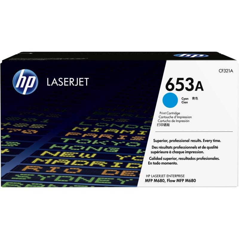 CF321A Toner Cartridge - HP Genuine OEM (Cyan)