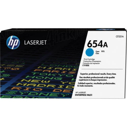 CF331A Toner Cartridge - HP Genuine OEM (Cyan)