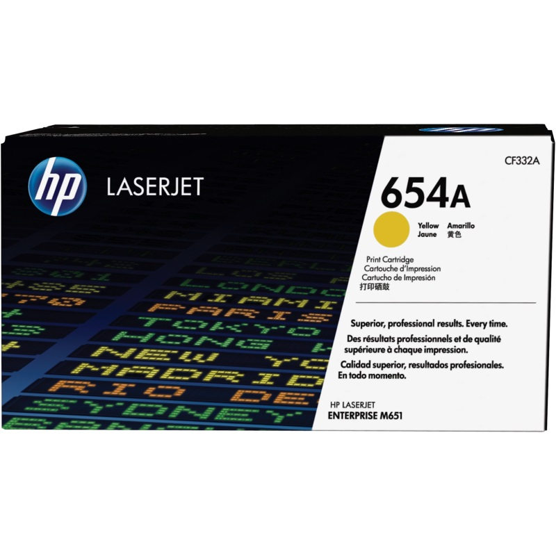 CF332A Toner Cartridge - HP Genuine OEM (Yellow)