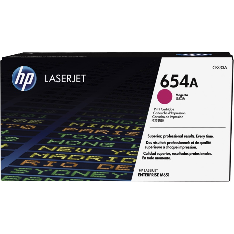 CF333A Toner Cartridge - HP Genuine OEM (Magenta)
