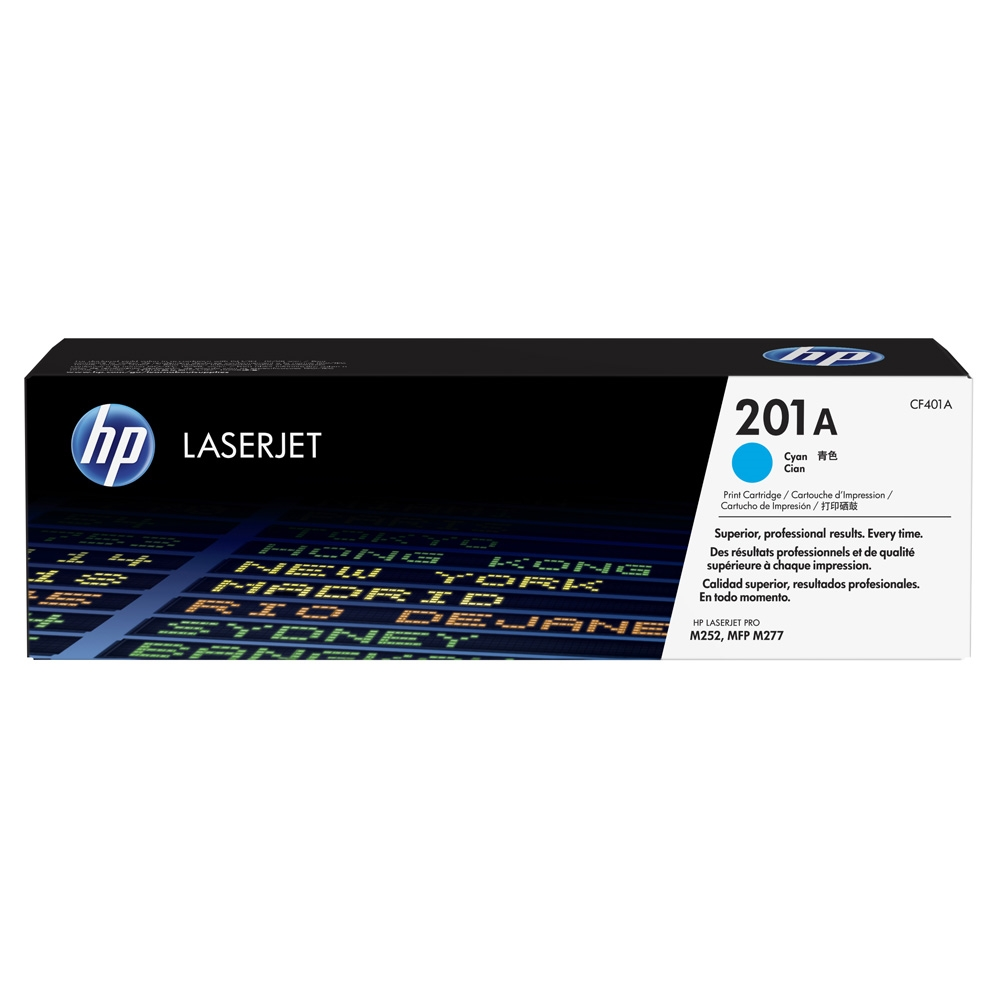 Genuine HP CF401A Cyan Toner Cartridge