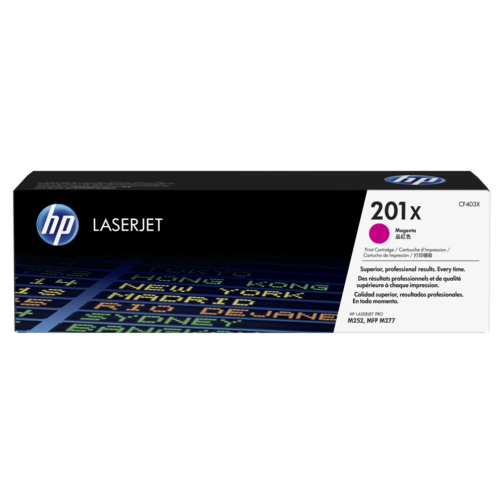 CF403X Toner Cartridge - HP Genuine OEM (Magenta)