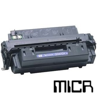 Compatible HP Q2610A-micr Black MICR Toner Cartridge