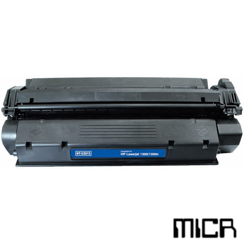 Compatible HP Q2613X-micr Black MICR Toner Cartridge