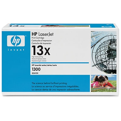 Genuine HP Q2613X Black Toner Cartridge