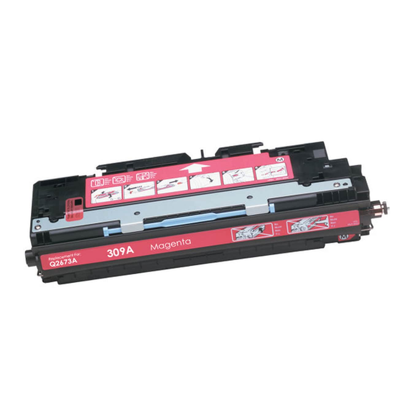 Compatible HP Q2673A Magenta Toner Cartridge