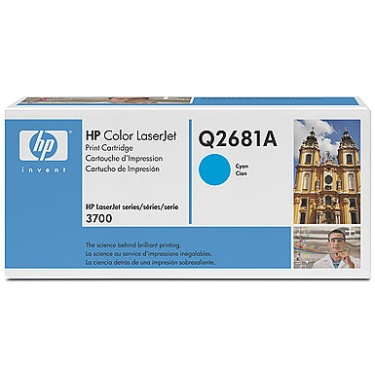 Genuine HP Q2681A Cyan Toner Cartridge