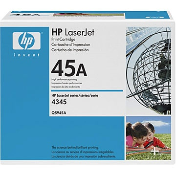 Q5945A Toner Cartridge - HP Genuine OEM (Black)