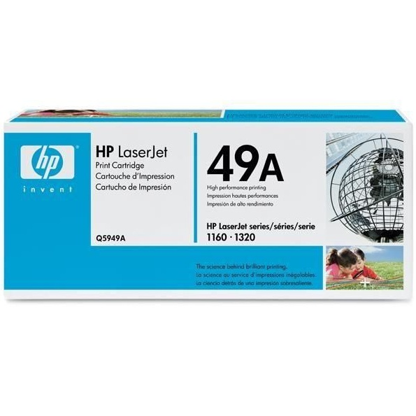 Genuine HP Q5949A Black Toner Cartridge