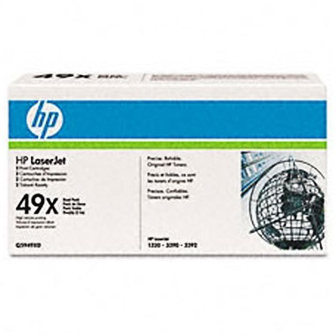 Genuine HP Q5949XD Black Toner Cartridges