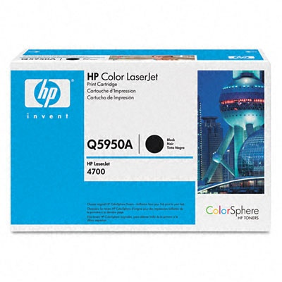 Genuine HP Q5950A Black Toner Cartridge