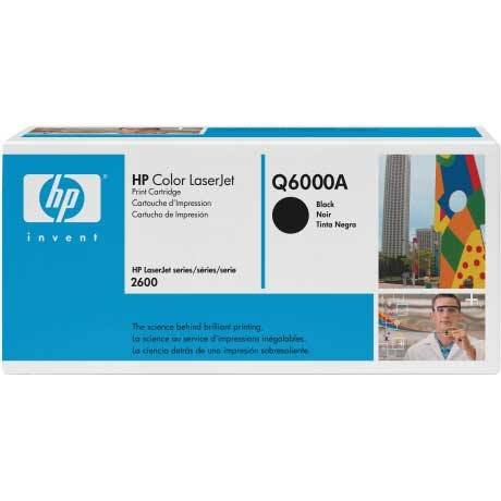 Q6000A Toner Cartridge - HP Genuine OEM (Black)