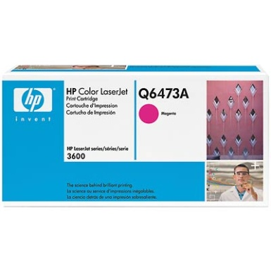 Q6473A Toner Cartridge - HP Genuine OEM (Magenta)