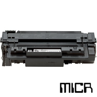 Compatible HP Q7551X-micr Black MICR Toner Cartridge