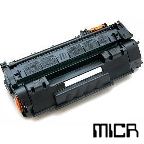 Compatible HP Q7553X-micr Black MICR Toner Cartridge