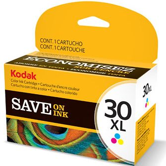 30C XL Ink Cartridge - Kodak Genuine OEM (Color)