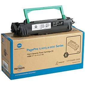 Genuine Konica-Minolta 1710405-002 Black Toner Cartridge