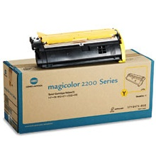 Genuine Konica-Minolta 1710471-002 Yellow Toner Cartridge