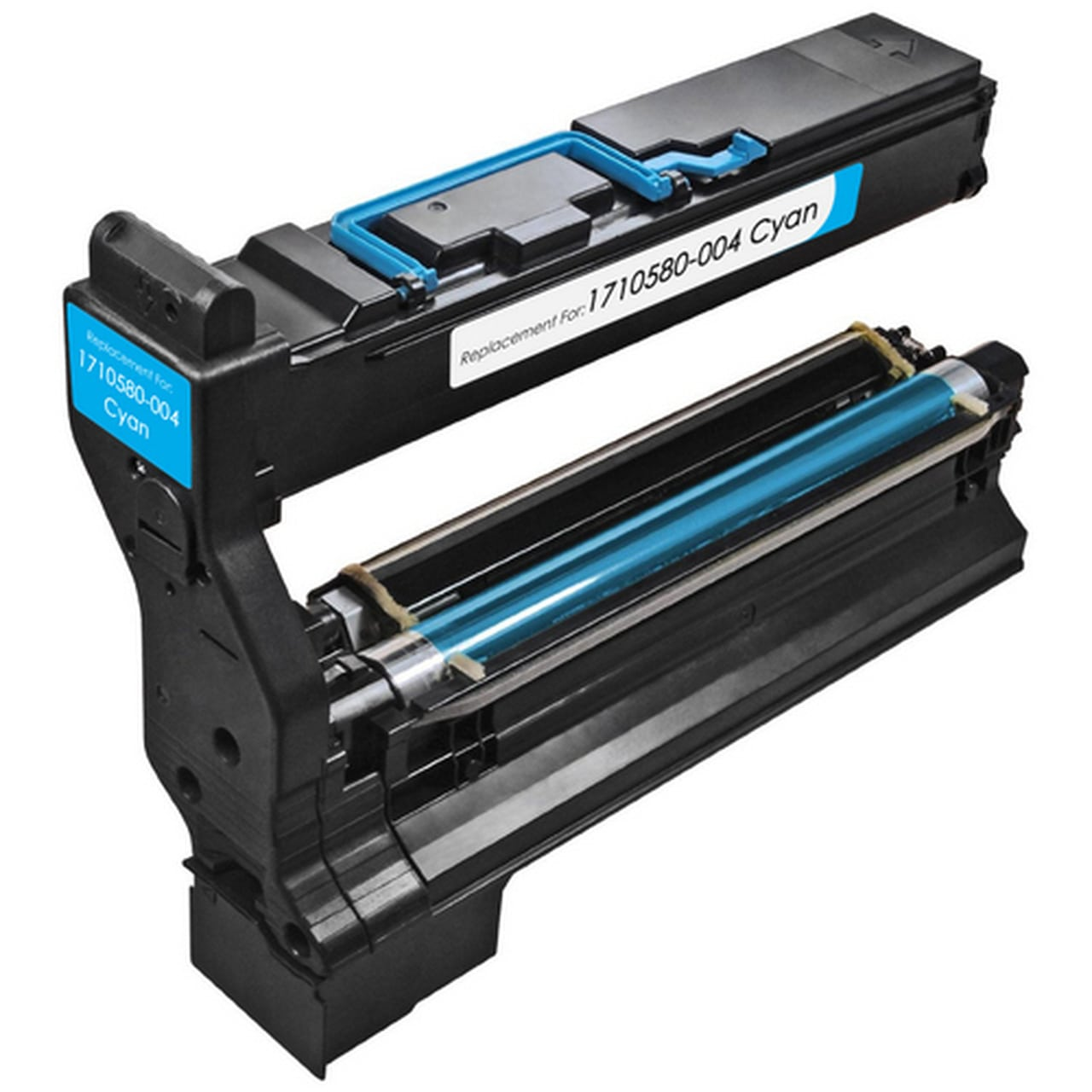 Compatible Konica-Minolta 1710580-004 Cyan Toner Cartridge