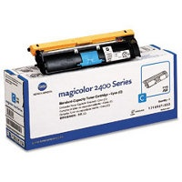 Genuine Konica-Minolta 1710587-003 Cyan Toner Cartridge