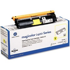 Genuine Konica-Minolta 1710587-005 Yellow Toner Cartridge