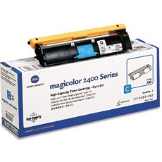 Genuine Konica-Minolta 1710587-007 Cyan Toner Cartridge