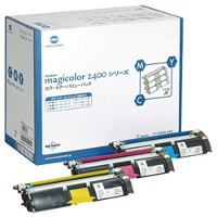 Genuine Konica-Minolta 1710595-002 Toner Cartridges