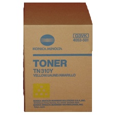 Genuine Konica-Minolta 4053-501 Yellow Toner Cartridge