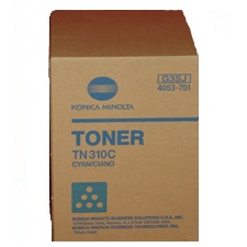 Genuine Konica-Minolta 4053-701 Cyan Toner Cartridge