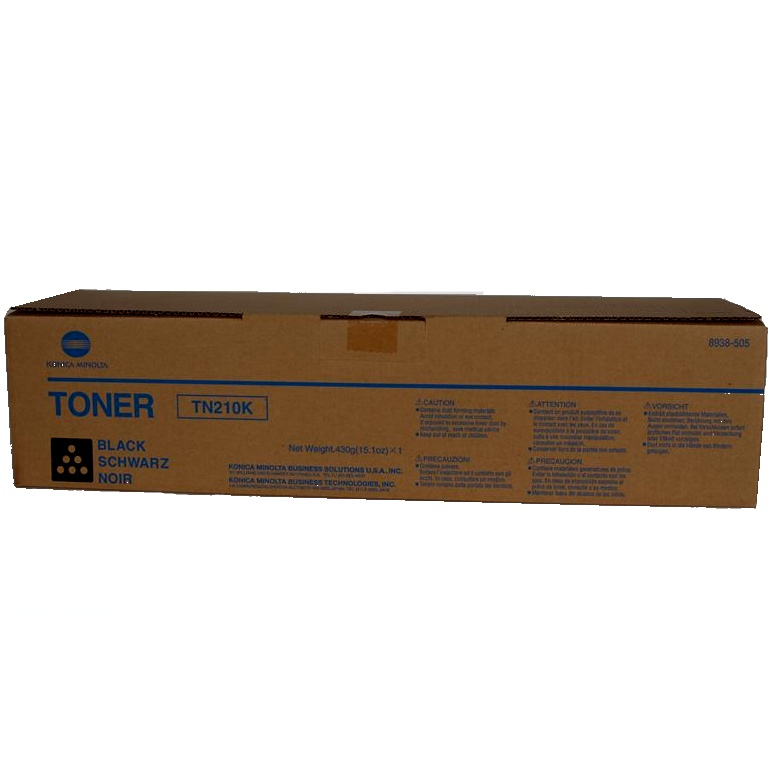 Genuine Konica-Minolta 8938-505 Black Toner Cartridge