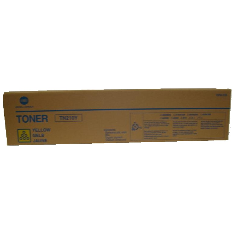 Genuine Konica-Minolta 8938-506 Yellow Toner Cartridge