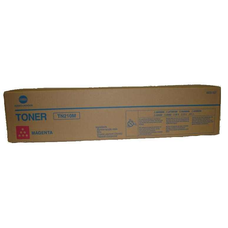 Genuine Konica-Minolta 8938-507 Magenta Toner Cartridge