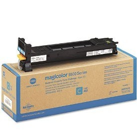 Genuine Konica-Minolta A06V432 Cyan Toner Cartridge