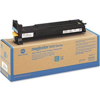 Genuine Konica-Minolta A06V433 Cyan Toner Cartridge