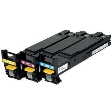 A06VJ33 Toner Cartridge - Konica-Minolta Genuine OEM (Bundle Pack)