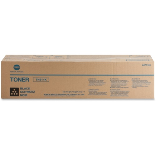 A070130 Toner Cartridge - Konica-Minolta Genuine OEM (Black)