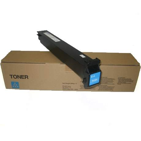 Genuine Konica-Minolta A0D7431 Cyan Toner Cartridge