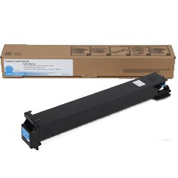 Genuine Konica-Minolta A0D7432 Cyan Toner Cartridge