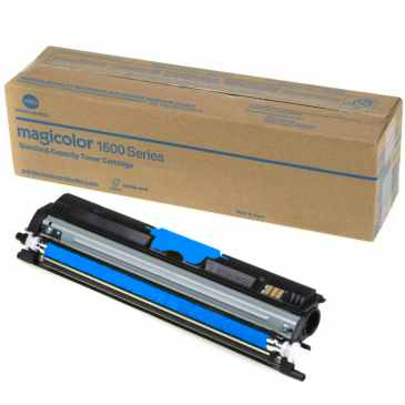 Genuine Konica-Minolta A0V30GF Cyan Toner Cartridge