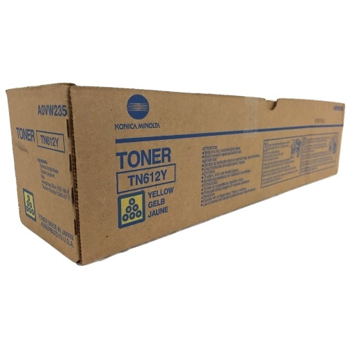A0VW235 Toner Cartridge - Konica-Minolta Genuine OEM (Yellow)