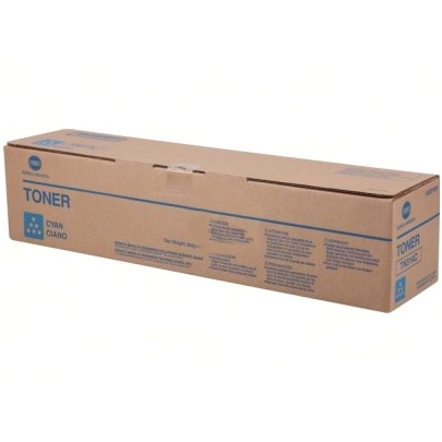 Genuine Konica-Minolta A0X5435 Cyan Toner Cartridge