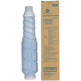Genuine Konica-Minolta A0YM431 Cyan Toner Cartridge