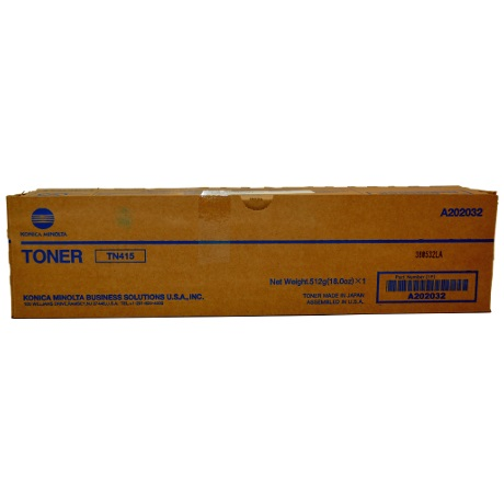 A202032 Toner Cartridge - Konica-Minolta Genuine OEM (Black)