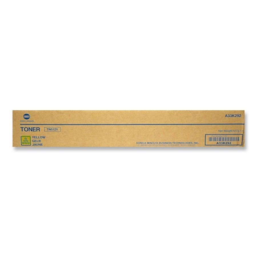 A33K232 Toner Cartridge - Konica-Minolta Genuine OEM (Yellow)
