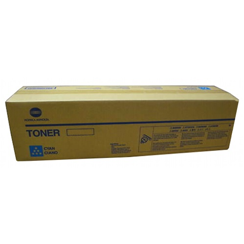 Genuine Konica-Minolta A3VU430 Cyan Toner Cartridge