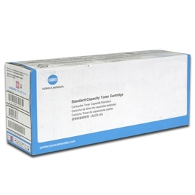 Genuine Konica-Minolta A63T01W Black Toner Cartridge