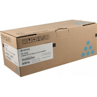 Genuine Kyocera Mita TK-152C Cyan Toner Cartridge