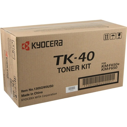 Genuine Kyocera Mita TK-40 Black Toner Cartridge